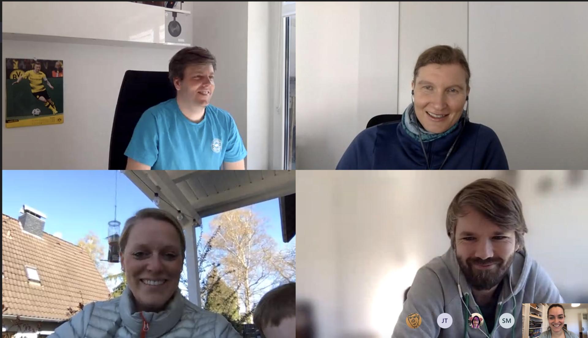 Videokonferenz Screenshot